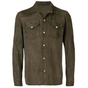 b42774f5 fitted button down shirt